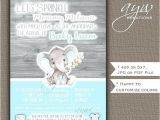 Chip Didn T Invite Jerome to the Tea Party Baby Boy Sprinkle Shower Invitations E Shower Invitations
