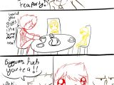 Chip Didn T Invite Jerome to the Tea Party Mitch and Jerome Tea Party by Pokemon Trash On Deviantart