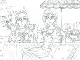 Chip Didn T Invite Jerome to the Tea Party Tea Time Urmila and Rose by Strawberrylightning On Deviantart