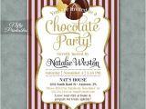 Chocolate Party Invitations Free Chocolate Party Invitations Printable Chocolate Invitation