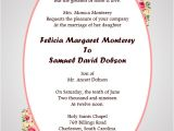 Christian Wedding Invitation Wording Samples From Bride and Groom Christian Wedding Invitation Wording Samples Wordings