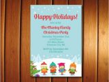 Christmas Caroling Party Invitations Christmas Caroling Invitation Printable Caroling Party