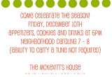 Christmas Caroling Party Invitations Christmas Caroling Party