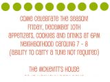 Christmas Caroling Party Invitations Christmas Caroling Party