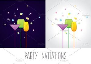 Christmas Cocktail Party Invitation Template 9 Cocktail Party Invitations Psd Eps or Ai format