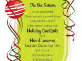 Christmas Cocktail Party Invitation Template Christmas Open House Invitations Christmas Open House