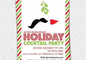 Christmas Cocktail Party Invitation Template Cocktail Party Invitations Party Invitations Templates