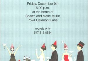 Christmas Cocktail Party Invitation Template Holiday Cocktail Party Invitations Wording