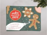 Christmas Cookie Decorating Party Invitations Free Christmas Cookie Decorating Party Invitations Printable