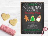 Christmas Cookie Decorating Party Invitations Free Cookie Decorating Party Cookie Party Invitation Annual