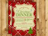 Christmas Eve Dinner Party Invitations Christmas Dinner Invite Christmas Dinner Invitation Christmas