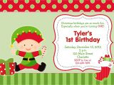 Christmas First Birthday Party Invitations First Birthday Christmas Party Invitation by thebutterflypress