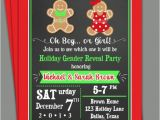 Christmas Gender Reveal Party Invitations that Party Chick 39 S Vendor Listing Catch My Party