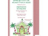 Christmas House Party Invitation Wording Open House Party Invitation Wording