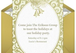 Christmas Invitation Wording for A Company Party Company Holiday Party Invitations