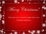Christmas Lunch Party Invitation Wording Christmas Party Invitation Wording 365greetings Com
