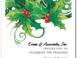 Christmas Party Images Invitations Sprigs Of Holly Holiday Invitations Christmas Invitations