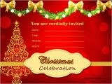 Christmas Party Invitation Cards Design Christmas Invitation Card Design Fun for Christmas