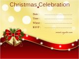 Christmas Party Invitation Cards Design Christmas Invitation Cards Festival Around the World