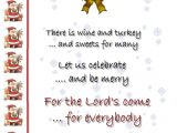 Christmas Party Invitation Message Christmas Invitation Template and Wording Ideas