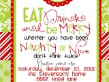 Christmas Party Invitation Rhymes Christmas Party Invite Wording Template Best Template