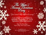 Christmas Party Invitation Samples Free Christmas Party Invites Party Invitations Templates