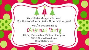 Christmas Party Invitation Template Christmas Party Invitations