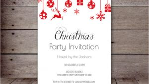 Christmas Party Invitation Template Editable Editable Holiday Invitations Printabell Create
