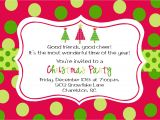 Christmas Party Invitation Template Online Christmas Party Invitations