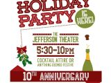 Christmas Party Invitation Template Outlook Christmas Holiday Party Email Invitation Template for
