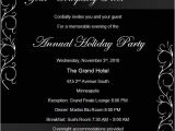 Christmas Party Invitation Templates Powerpoint Birthday Invitation Powerpoint Templates
