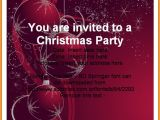 Christmas Party Invitation Templates Powerpoint Free Party Invitation Templates Powerpoint Business Plan