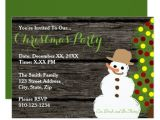 Christmas Party Invitations Design Your Own Create Your Own Christmas Party Invitation Zazzle