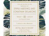 Christmas Party Invitations Vistaprint Palm Leaves Wedding Invitation Vistaprint Invite