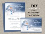 Christmas Party Invitations with Rsvp Cards 96 Best Printable Christmas and Holiday Party Invitations