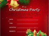 Christmas Party Invite Template Word Christmas Invitation Template and Wording Ideas