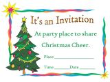 Christmas Party Invite Template Word Printable Christmas Party Invitation Template