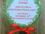 Christmas Pizza Party Invitations Jac O 39 Lyn Murphy Christmas Pizza Party