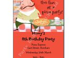 Christmas Pizza Party Invitations Pizza Party Invitation Personalised Invites