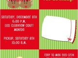 Christmas Pj Party Invitation Christmas Pajama Birthday Party Invitations Expressions