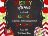 Christmas Pj Party Invitation Christmas Pajama Party Clip Art 45