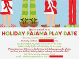 Christmas Pj Party Invitation Running From the Law Mac 39 S Holiday Pajama Party
