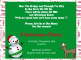 Christmas Poems for Invitation to A Party Funny Christmas Party Invitation Wording Cimvitation