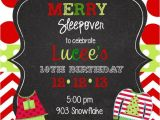 Christmas Slumber Party Invitations 12 Christmas Pajama Party Invitations with Envelopes Pj