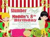 Christmas Slumber Party Invitations Slumber Party Invitation Sleepover Invite Birthday Party