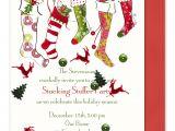 Christmas sock Exchange Party Invitation Goosie Girl November 2010