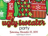 Christmas Sweater Party Invitation Template 60 Best Christmas Ugly Sweater Party Images On Pinterest