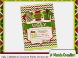 Christmas Sweater Party Invitation Template Gallery Ugly Christmas Sweater Invitation Template