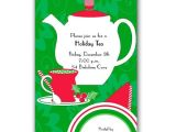 Christmas Tea Party Invitation Wording Christmas Tea Time Invitations Paperstyle