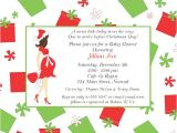 Christmas themed Baby Shower Invitations Christmas Baby Shower Invitations